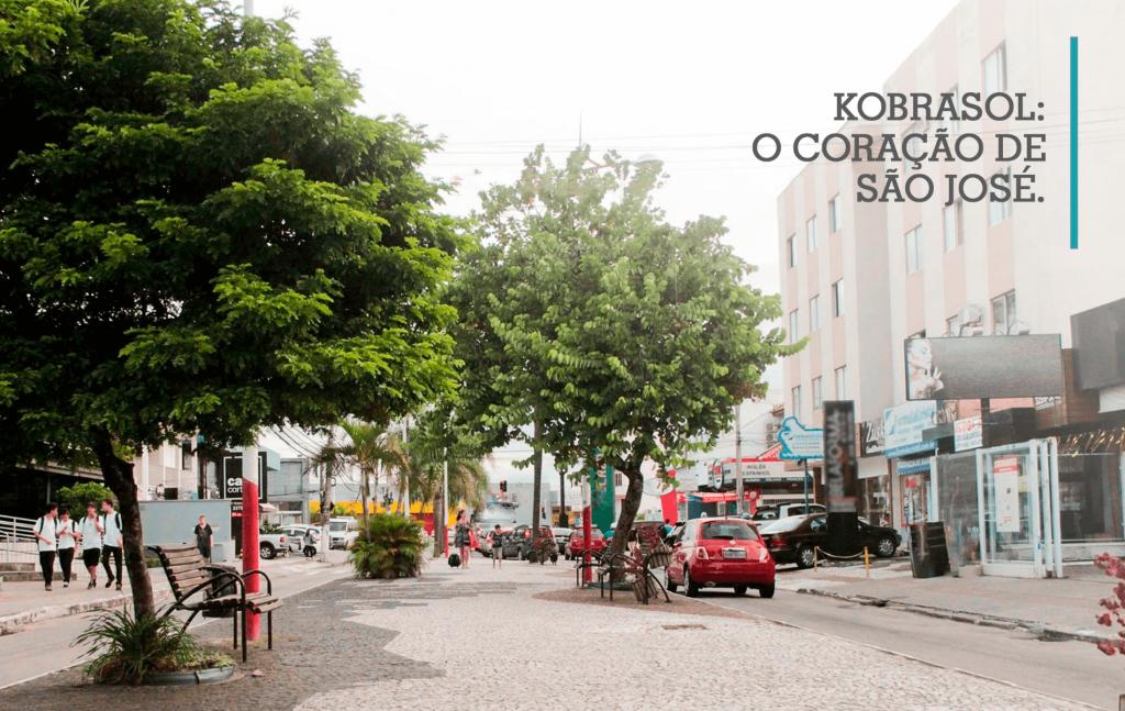 O que tem no bairro Kobrasol?